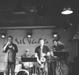 JB Quartet with Adam Larson, John Tate, Pete Zimmer at Silvana, Harlem NYC