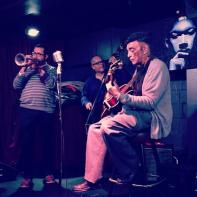 with Milwaukee legend Manty Ellis, John Price on bass