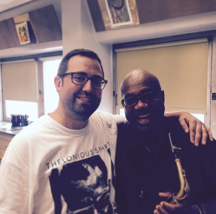 Teaching at the Milwaukee Public School summer jazz camp with Ronald Carter, August 2016