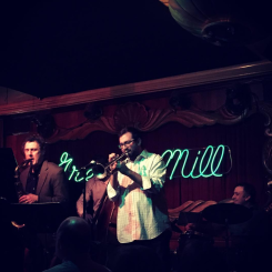 with Ralph Bowen at The Green Mill, Chicago, IL, 2016