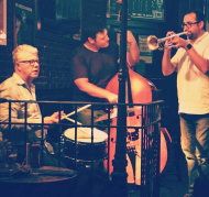 JB Trio with Matt Wilson and John Tate at The Dead Poet, NYC 2017